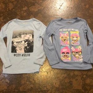 Children's Place Long Sleeve 5/6 Bundle